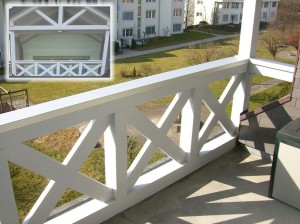 Neugestaltung Balkon